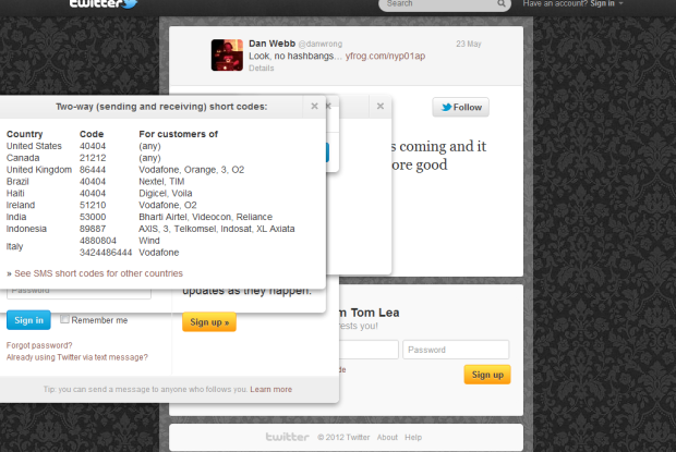I've un-hidden all the additional content from the linked tweet page in this screenshot, there are around 10 popups.