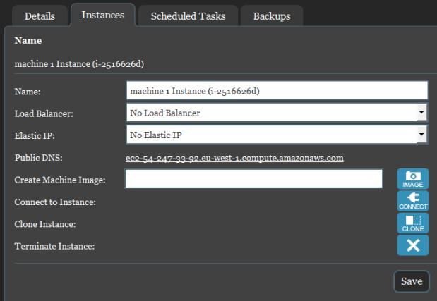 CloudFlex Environment Details